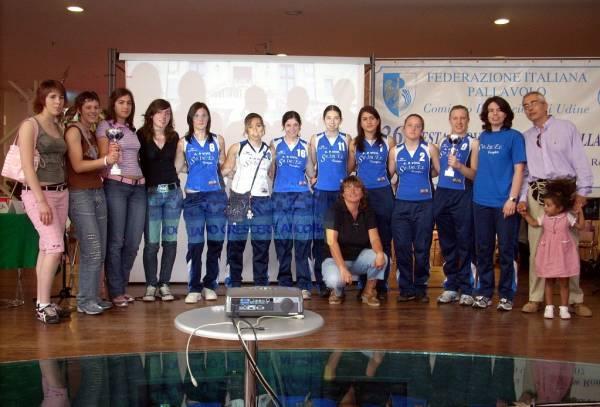 1° posto Trofeo Friuli - U16F - U18F