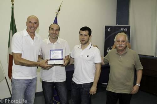 Premiazioni campionato: con Franco Bertoli