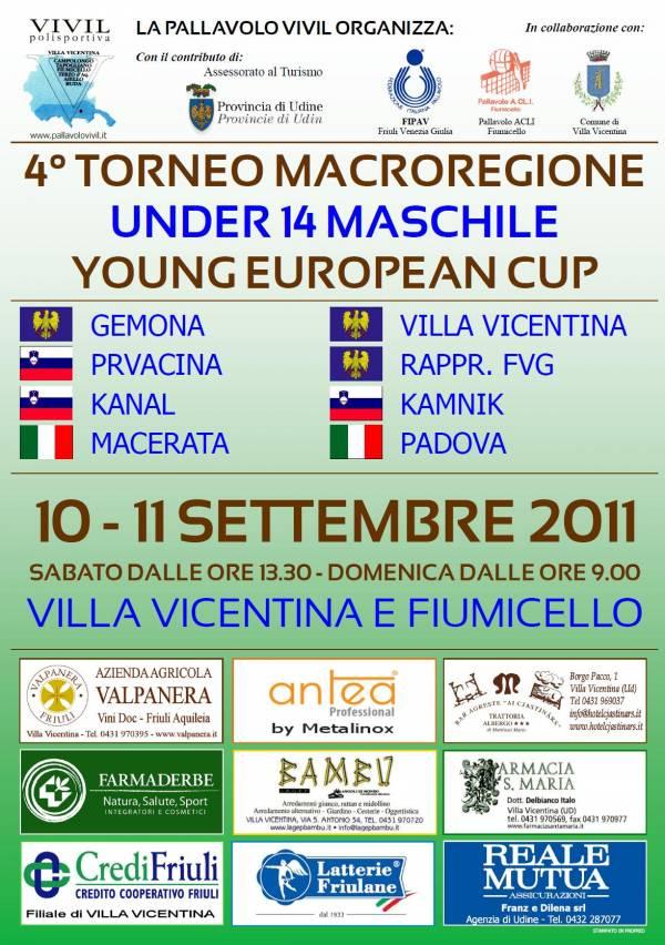 4° Torneo Internazionale Macroregione - Locandina