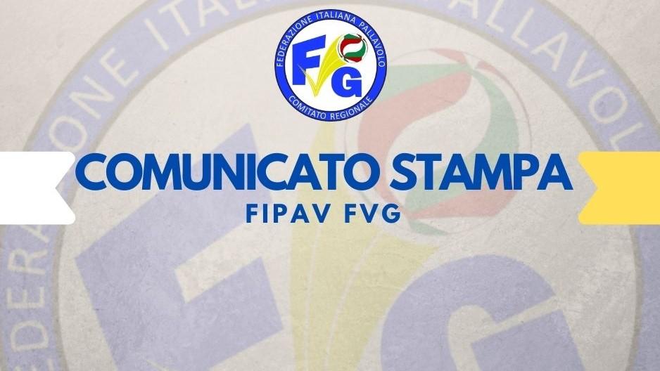 Comunicato Fipav fvg