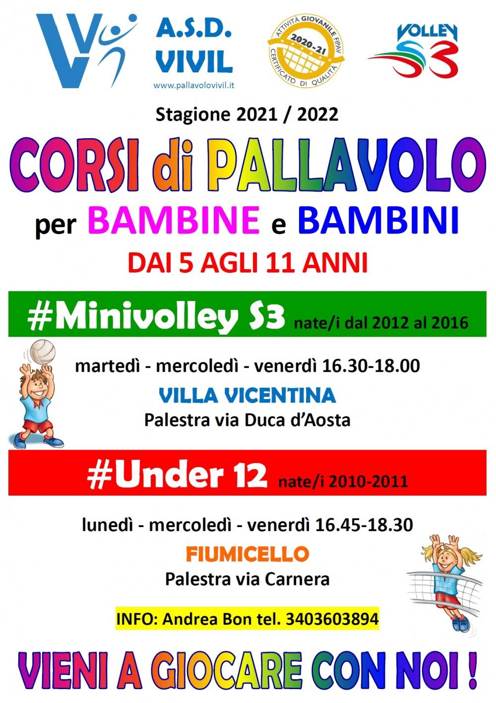 Volantino Minivolley Under12